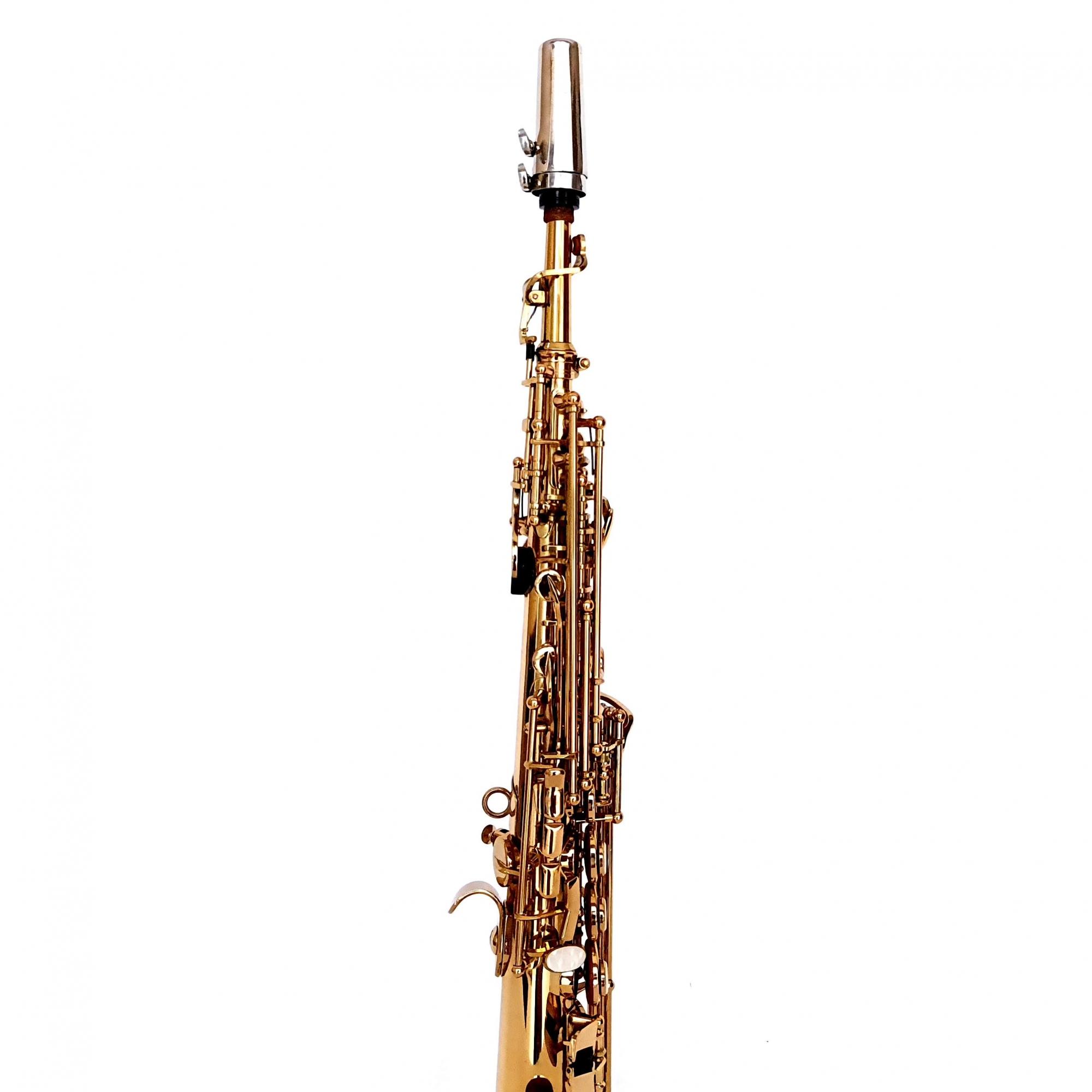 Sax Soprano Spalla Laqueado Usado