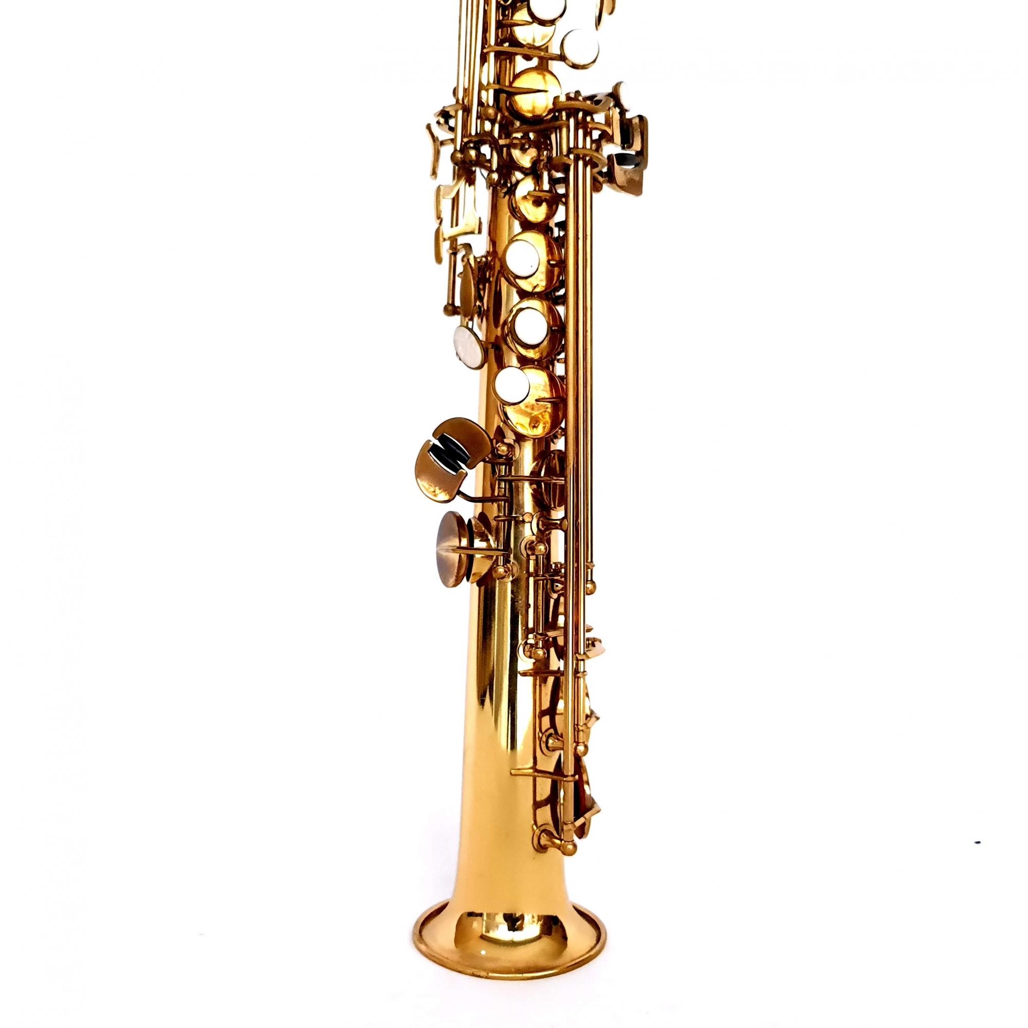 Sax Soprano Weril Laqueado Usado 82640