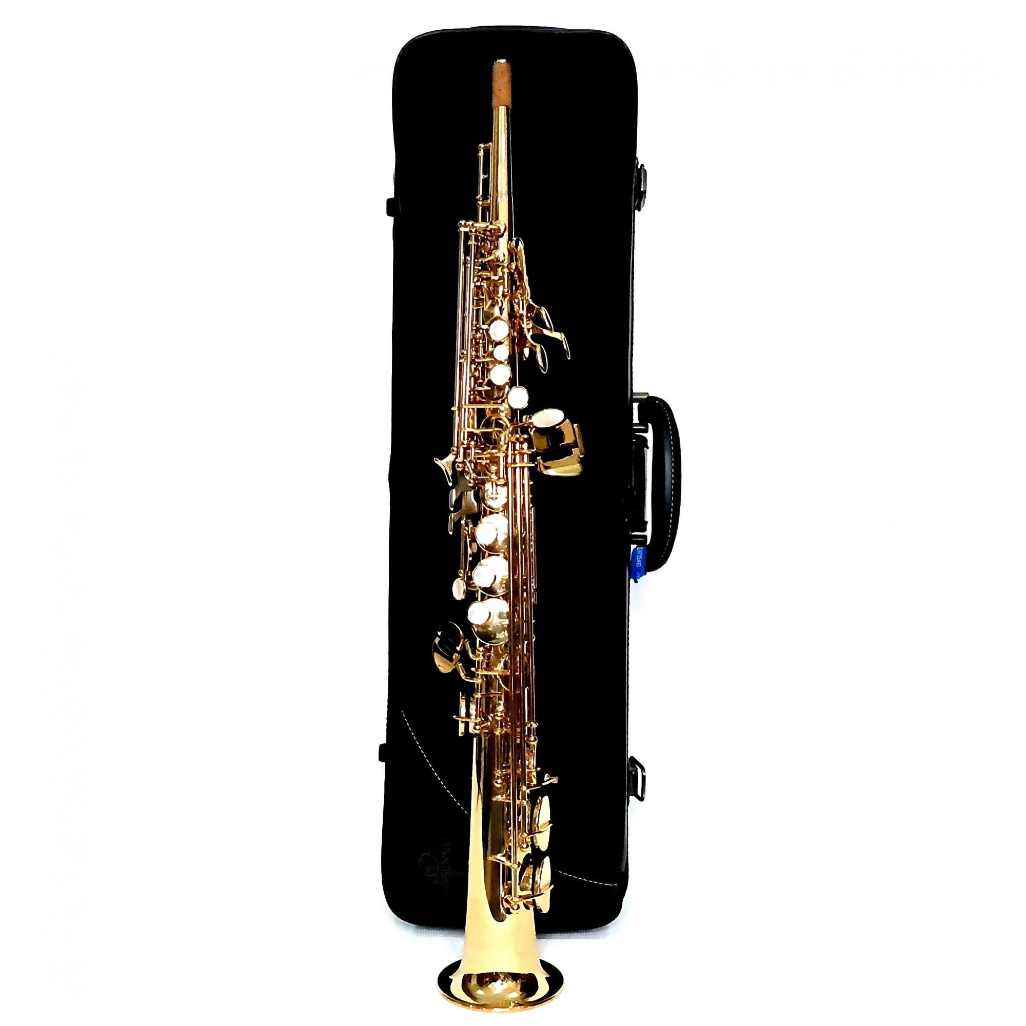 Sax Soprano Yanagisawa W01 Seminovo