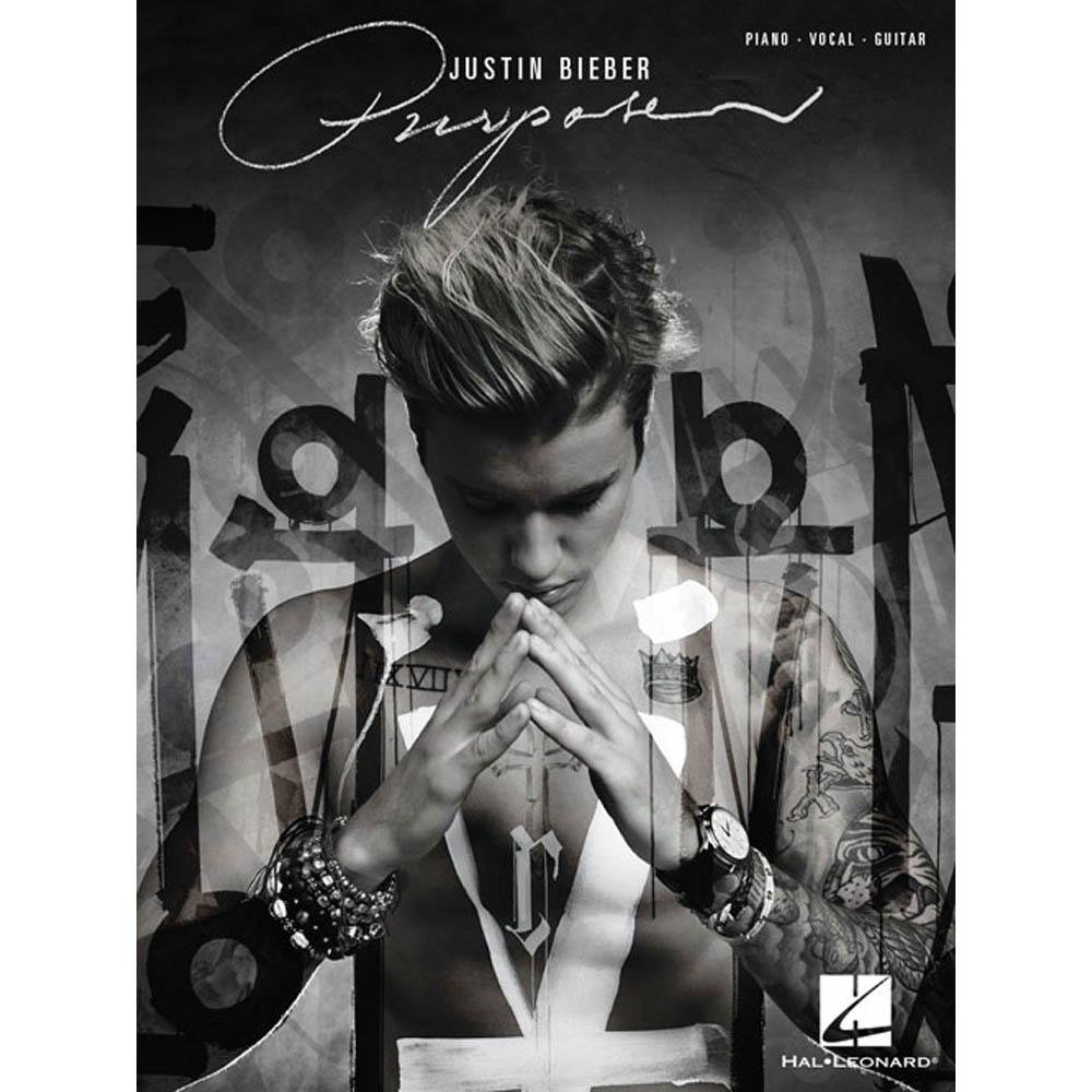 Songbook Justin Bieber Purpuse Piano Vocal Violão - Inglês