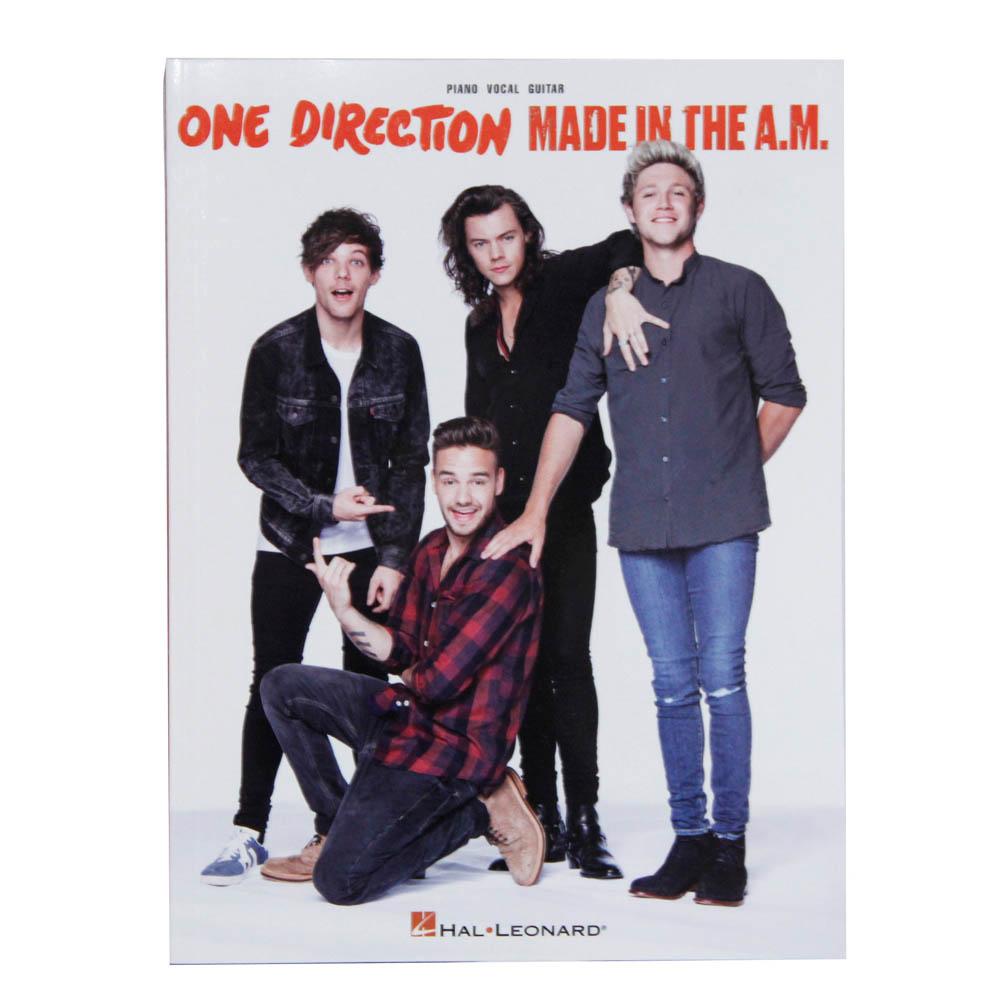 Songbook One Direction Made InThe A.M. Piano Vocal Violão - Inglês