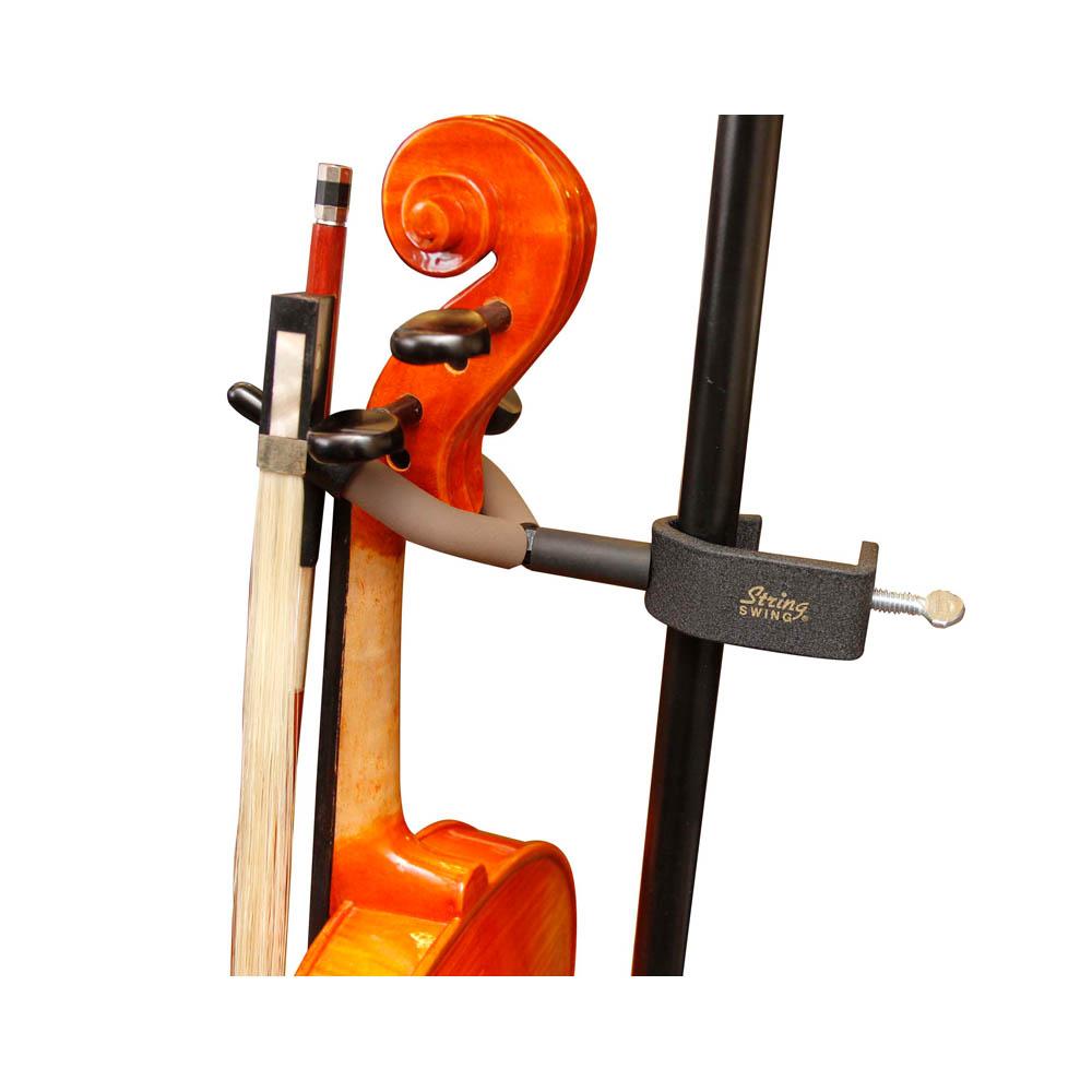 Suporte para Violino String Swing USA Prende em Estante de Partitura