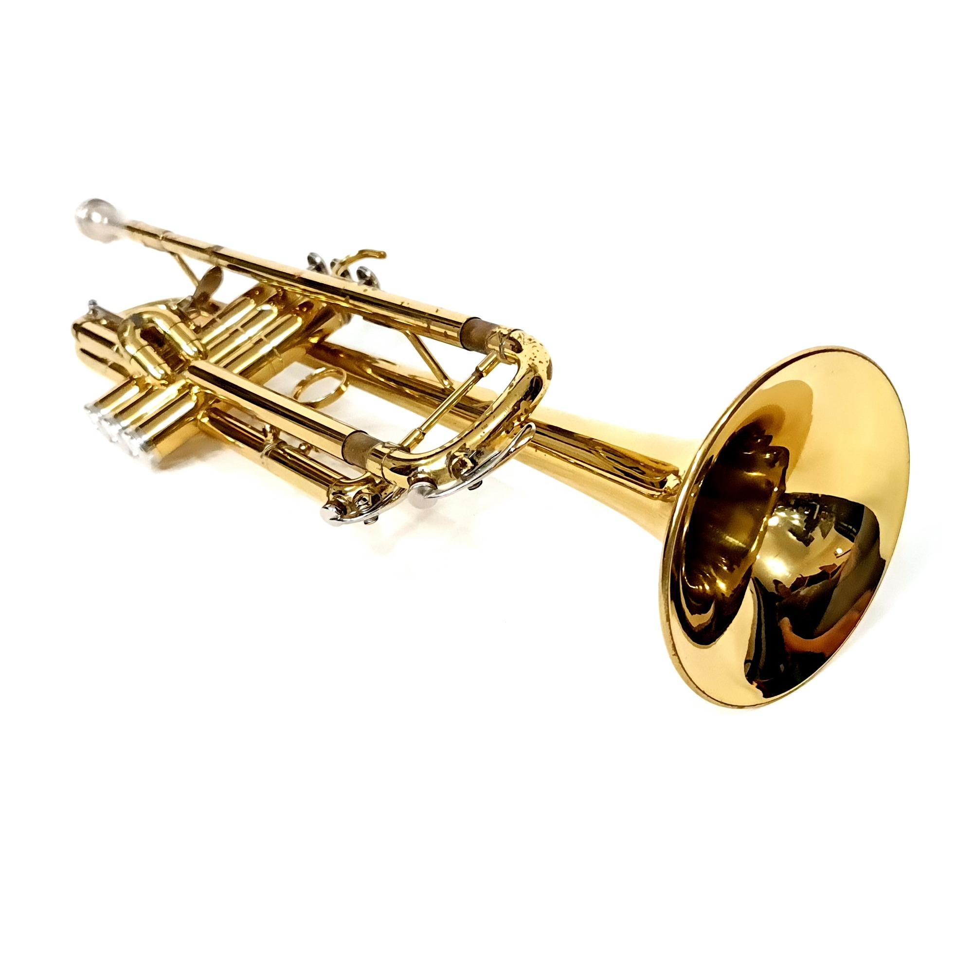 Trompete Sib Weril Et2171 Laqueado Com Gatilho Usado