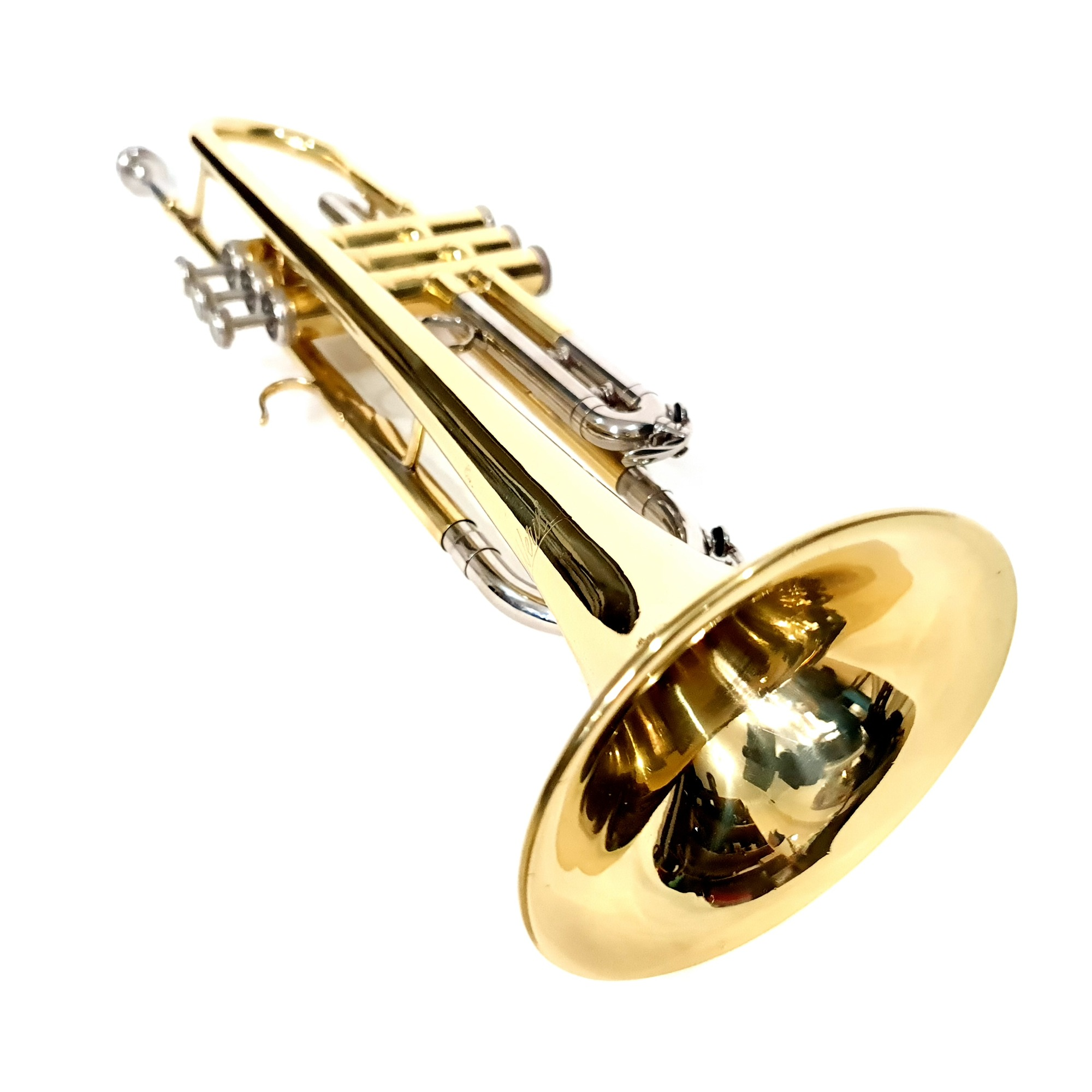 Trompete Sib Weril Laqueado Usado
