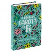 A Bíblia da Garota de Fé | Nvt | Capa Soft Touch | Jardim