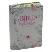 A Bíblia da Mulher | Ara | Zíper | Capa Couro Sintético | com Índice | Florida