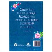 A Bíblia Diz - Flores | NAA | Capa Dura | Verde
