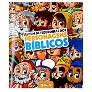 Álbum de Figurinhas Personagens Bíblicos   Sbb