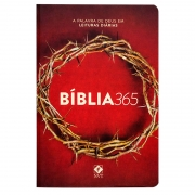 Bíblia 365 Coroa | Nvt | Capa Dura | Ilustrada