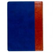 Bíblia Brasileira De Estudo | Almeida Século 21 | Brochura | Marrom e Azul