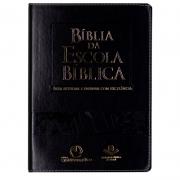 Bíblia Da Escola Bíblica | ARA | Capa Couro Sintético | Preta