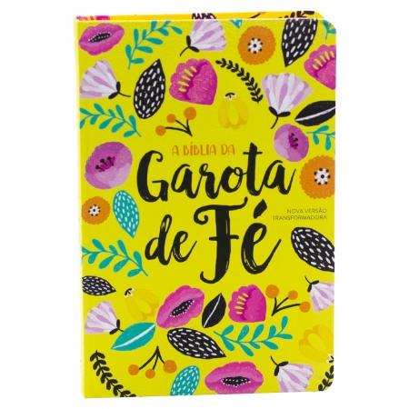 Bíblia Da Garota De Fé Primavera | NVT | Capa Dura | Ilustrada