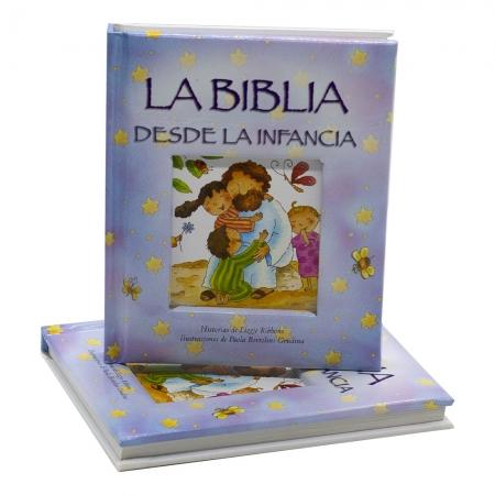 Bíblia Da Infância Em Espanhol | Capa Dura | Azul