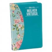 Bíblia Da Mulher Virtuosa | ACC | Capa Luxo | Verde