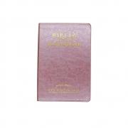 Bíblia De Estudo Joyce Meyer | NVI | Capa Luxo | Rosa