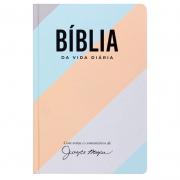 Bíblia de Estudo Joyce Meyer Reta | Nvi | Capa Dura | Colorida