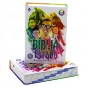 Bíblia De Estudo Kids - O Mundo de Otávio | NTLH | Capa Dura | Ilustrada