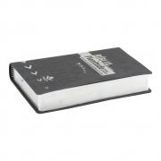 Bíblia de Estudo Plenitude para Jovens | Ntlh | Capa Couro Sintético | Cinza