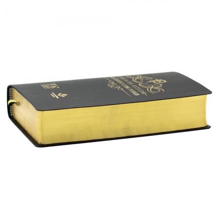 Bíblia De Estudo Pregando Com Poder | ARC | Couro Bonded | Preta