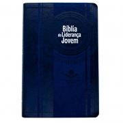Bíblia De Liderança Jovem | NTHL | Capa Pu | Azul