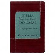 Bíblia Devocional Do Casal   NVI   Letra Normal   Vermelha