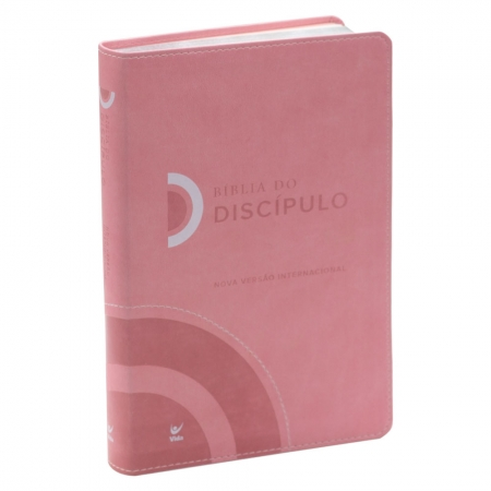 Bíblia do Discípulo | Nvi | Luxo | Rosa