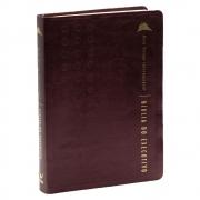 Bíblia do Executivo | Nvi | Capa Luxo | Vinho