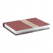 Bíblia Do Executivo | NVI | Luxo | Vinho E Prateado