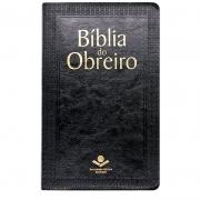 Bíblia Do Obreiro | ARC | Luxo | Couro Sintético | Preta