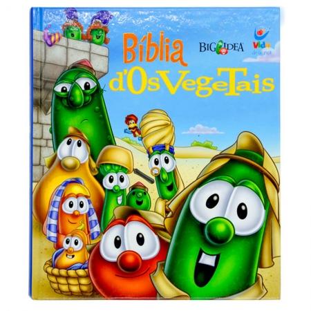 Bíblia dos Vegetais | Infantil | Letra Grande | Capa Dura Colorida