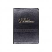 Bíblia Em Ordem Cronológica | NVI | Capa Pu | Preta