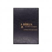 Bíblia Em Ordem Cronológica - Reflexões Bispo Rodovalho | NVI | Capa Luxo | Preta