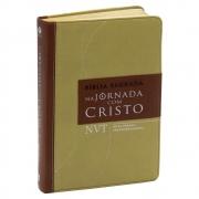 Bíblia na Jornada com Cristo | Nvt | Letra Normal | Marrom