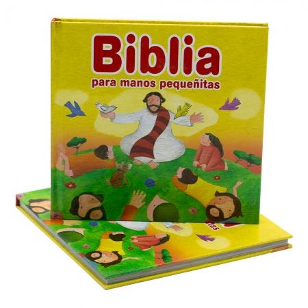 Biblia Para Os Pequenos Em Espanhol | Capa Dura | Ilustrada