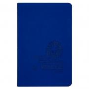 Bíblia Sagrada | AEC | Leão | Letras Vermelhas | Capa Pu Azul