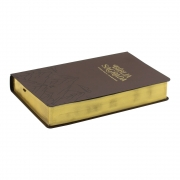 Bíblia Sagrada | AEC | Letra Grande | Capa Semiflexível | Marrom