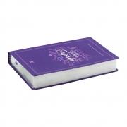 Bíblia Sagrada | AEC | Letra Grande | Capa Semiflexível | Roxa