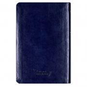 Bíblia Sagrada | ARC | Capa Couro Sintético | Azul