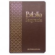 Bíblia Sagrada | ARC | Capa Dura | Letra Gigante | Marrom