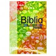 Bíblia Sagrada Colorida | SBU | Capa Brochura | Redes Sociais