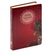 Bíblia Sagrada | com Índice | Arc | Capa Flexível | Letra Gigante | Vermelho