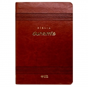 Bíblia Sagrada Dunamis - Clássica | Naa | Capa Luxo | Marrom
