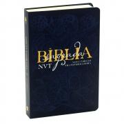 Bíblia Sagrada Éden | NVT | Letra Grande | Capa Soft Touch | Azul