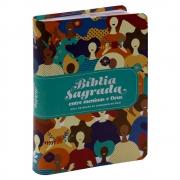 Bíblia Sagrada | entre Meninas e Deus | Ntlh | Capa Semiluxo Ilustrada