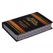 Bíblia Sagrada Harpa Avivada E Corinhos | ARC | Letra Grande | Capa Semiflexível | Preta