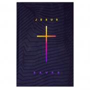 Bíblia Sagrada - Jesus Saves   NAA   Capa Dura   Ilustrada