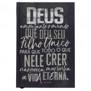 Bíblia Sagrada João 3.16 | NVT | Capa Dura | Chumbo