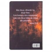 Bíblia Sagrada King James Leão | King James Fiel 1611 | Capa Soft Touch | Marrom