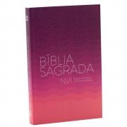 Bíblia Sagrada Leitura Perfeita | NVI | Brochura | Rosa