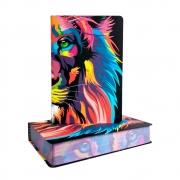 Bíblia Sagrada Lion Color | NVT | Capa Soft Touch | Letra Grande | Ilustrada
